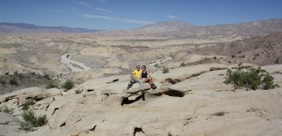 Phil and Mere in Anza Borrego
