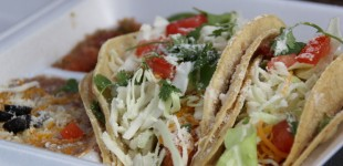 Delicous fish tacos