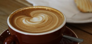 The always perfect Caffe Calabria cappuccino