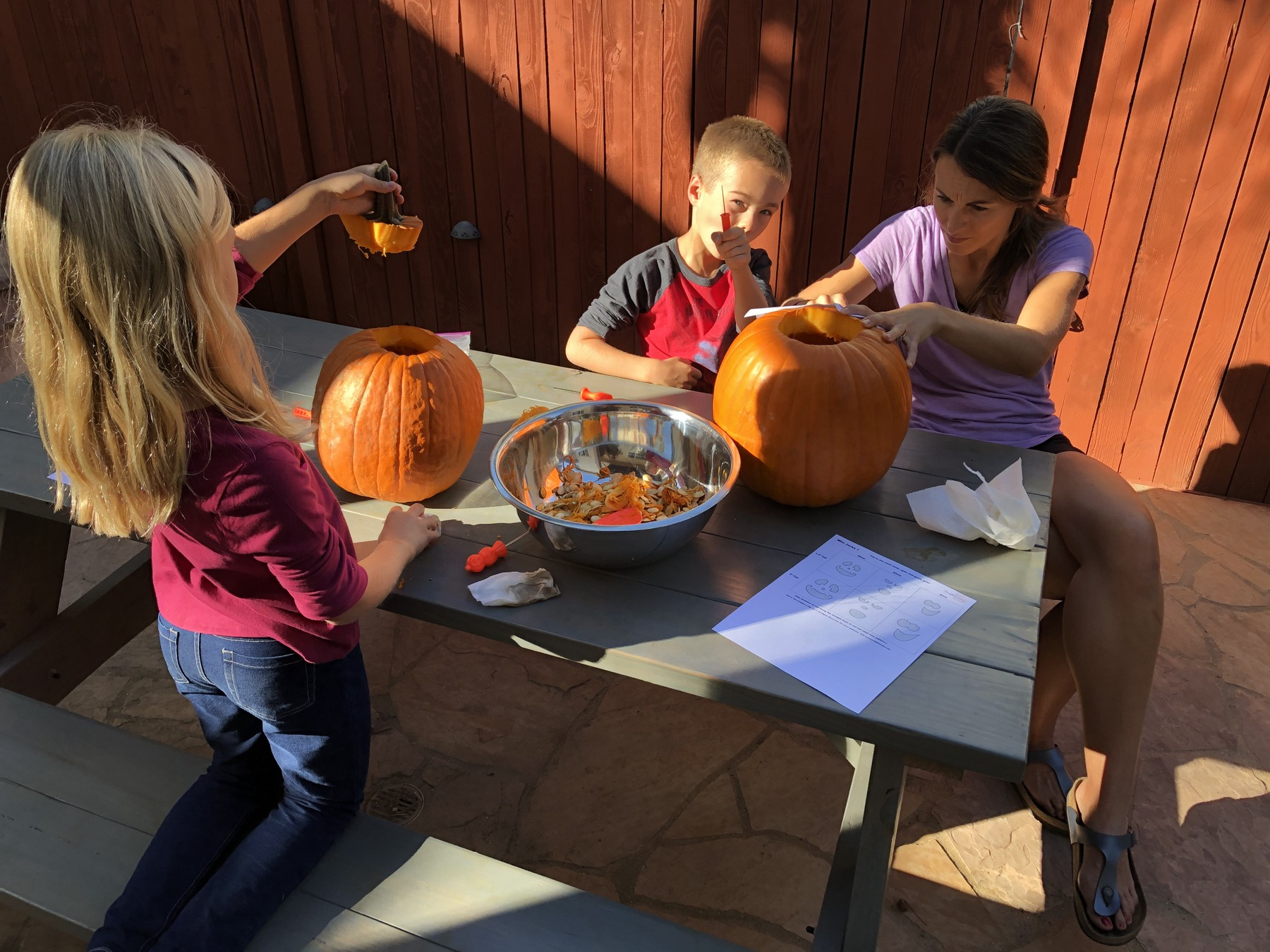 Carving our creations